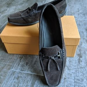 Tod's Quinn Guiana Double Tassel Loafer/Moccasin